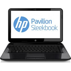 "Pavilion Sleekbook 14.0"" 14-b013nr Notebook PC - Intel i3-3217U Proc. - OPEN BOX"
