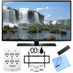 UN55J6200 - 55-Inch Full HD 1080p 120hz LED HDTV Slim Flat Wall Mount Bundle