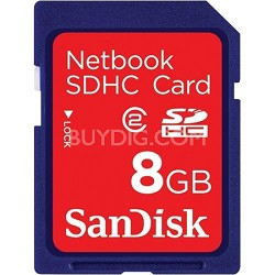 8GB Netbook SDHC Memory Card