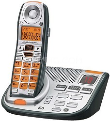 DECT6.0 Cordless Phone for Mild Hearing Loss with Digital Answering System