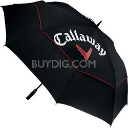 "68"" Black Tour Authentic Double Canopy Umbrella 5911000"