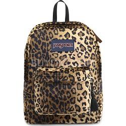 High Stakes Backpack - Black/Beige Plush Cheetah (TRS7)