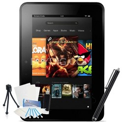 """Kindle Fire HDX 7"""" Touch 16GB Wi-Fi  (With Special Offers) Bundle"""