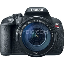 EOS Rebel T5i 18MP SLR Camera with 18-135mm STM Lens
