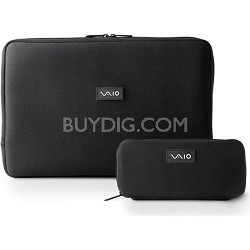 "VAIO VGP-AMC7 Neoprene 16.4"" Notebook and AC Adapter Cases"