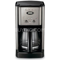 DCC-1200 Brew Central 12 Cup Programmable Coffeemaker (Black Chrome) Refurbished