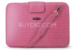 """MEPFCXL Large techstyle portfolio pink computer case for Laptops up to 17"""""""