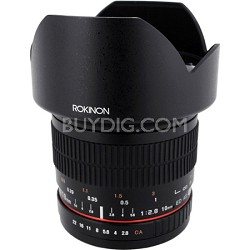 10mm F2.8 Ultra Wide Angle Lens for Canon M Mount