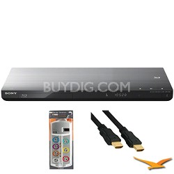 BDPS790 - Wifi 3D 4K Upscaling Blu-ray Player with HookUp Bundle