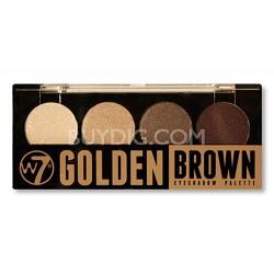 Quad-Eyeshadow Palette Golden Brown