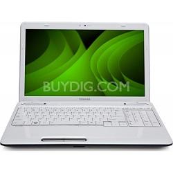 "Satellite 15.6"" L655-S5161WHX Notebook PC - White Intel Ci5 480M Processor"