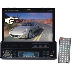 7-Inch Single-DIN In-Dash Motorized TFT/LCD Touchscreen Monitor Receiver