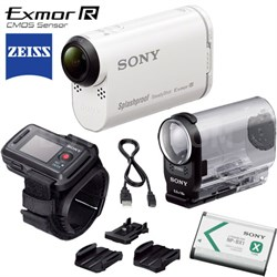 HDR-AS200VR/W Action Cam Kit with Live View Remote