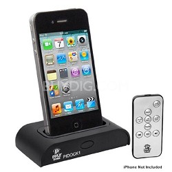 PIDOCK1 Universal iPod/iPhone Docking Station for Audio Output, Charging, Sync