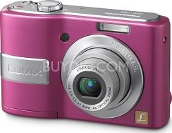 DMC-LS85P LUMIX 8.1 MP Digital Camera w/ 4x Optical Zoom (Pink) - OPEN BOX