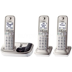 KXTGD223N Dect 6.0 3 Digital Cordless Handset REFURBISHED