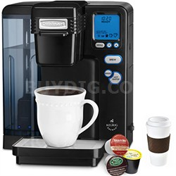 Single Serve Brewing System - Powered by Keurig - Black + Copco To Go Cup Bundle
