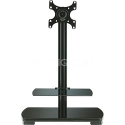 "FFSF1A - Flat Panel TV Stand for flat panel TVs up to 30"" w/ 2 shelves"