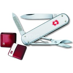59115 Money Clip 53740 Swiss Army Knife in Ruby Gift Box