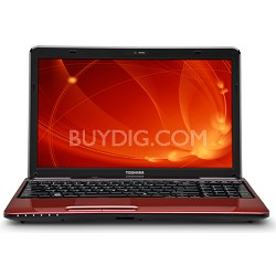 "Satellite 15.6"" L655-S5156RD Notebook PC - Red Intel Pentium P6200 Processor"
