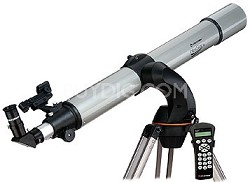 NexStar 80GTL SkyAlign 80mm Achromatic Refractor Telescope w/ Motorized Mount