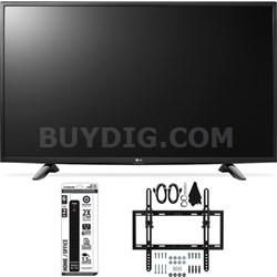 43LH5700 43-Inch Full HD Smart LED TV Flat + Tilt Wall Mount Bundle