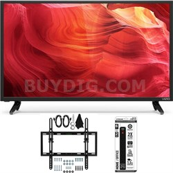 "E32-D1 32"" 120Hz SmartCast Full-Array LED 1080p HDTV w/ Tilt Wall Mount Bundle"