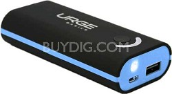 POWERPRO 4000 mAh Portable Power (Black/Light Blue)