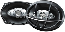 "CJ-DA6943 6"" x 9"" 4-Way Speakers"