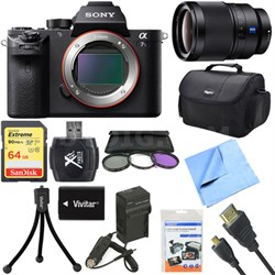 a7S II Full-frame Mirrorless Interchangeable Lens Camera Body 35mm Lens Bundle