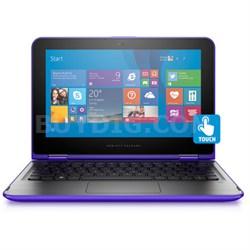 "Pavilion 11-k064nr x360 11.6"" Intel N3700 Touchscreen Convertible Notebook"