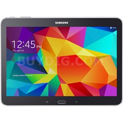 "Galaxy Tab 4 Black 16GB 10.1"" - 1.2 GHz Quad Core, Android 4.4 - ***AS IS***"