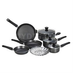 10-Piece Initiatives Cookware Set in Grey - A821SA94