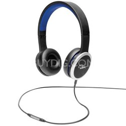 Chambers by RZA Street On-Ear Headphones - Black/Blue