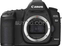 EOS 5D Mark II 21.1MP Full Frame CMOS Digital SLR Camera (Body Only)