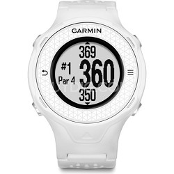Approach S4 GPS Hi-res Touchscreen Golf Watch-White (010-01212-01)