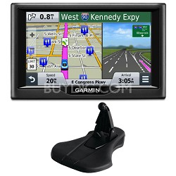 "nuvi 58 5"" Essential Series 2015 GPS Navigation System US & Canada Mount Bundle"