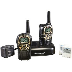22-Channel Camo Face Plate GMRS with 24 Mile Range - LXT535VP3