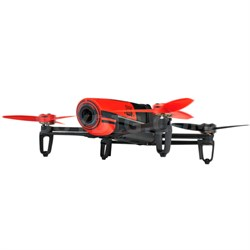 BeBop Drone 14 MP Full HD 1080p Fisheye Camera Quadcopter (Red) - OPEN BOX