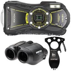 WG-20 14MP Waterproof Shockproof 14.0 Megapixel 5x Zoom Camera Adventure Kit