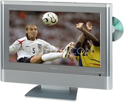 "20HLV86 - 20"" TheaterWide High-definition LCD TV w/ built-in DVD Player"