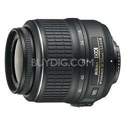18-55mm f/3.5-5.6G VR AF-S DX Nikkor Zoom Lens - OPEN BOX
