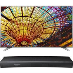 55-Inch UHD Smart TV w/ webOS 3.0-55UH6550 w/UBD-K8500 4K UHD Blu-Ray Player