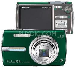 Stylus 830 Digital Camera (Green)