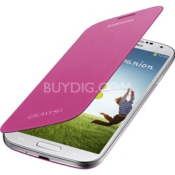 Galaxy S IV Flip Cover Pink