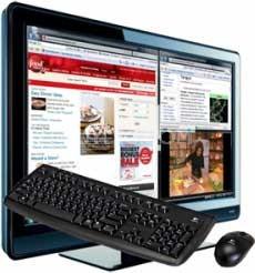 Allio 42-inch HDTV-PC 2.0