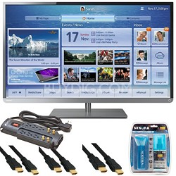 50 Inch Cloud LED TV 1080p  Smart Wifi 120Hz (50L4300) Essentials Bundle