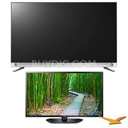 55LA9650 55-Inch 1080p 4K Ultra HD 240Hz 3D LED TV 2 TV Bundle