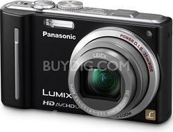 DMC-ZS7K LUMIX 12.1 MP Digital Camera with 16x Intelligent Zoom (Black)