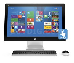 """Pavilion 23-q010 23"""" AMD A8-7410 All-in-One Touchscreen Desktop"""